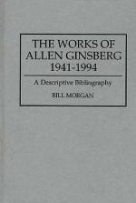 The Works of Allen Ginsberg, 1941-1994