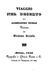 Viaggio nel deserto. Versione di Girolamo Bertolio: Volume 54