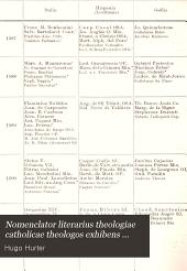 Aetas recens: Post celebratum Concilium tridentinum seculum primum. Ab anno 1564-1663