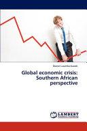Global Economic Crisis PDF