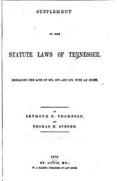 A Compiliation of the Statute Laws of the State of Tennessee: Sec. 1-2745d: Supplement