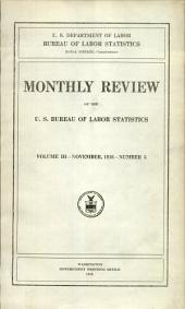 Monthly review of the U.S. Bureau of Labor Statistics: Volume 3, Issue 5