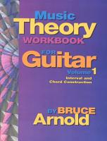Music Theory Workbook for Guitar PDF