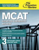 MCAT General Chemistry Review PDF
