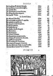 Mirabilia Rome: opusculu[m] de mirabilius noue et veteris vrbis Rome