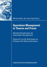 Operations Management in Theorie und Praxis PDF