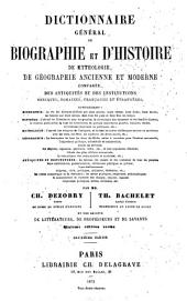 Dictionnaire général de biographie et d'histoire: Volume2