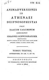Animadversiones in Athenaei Deipnosophistas: Volume 3