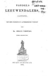 Vondel's Leeuwendalers: lantspel