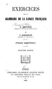 Exercises sur la grammaire française
