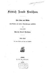 Friedrich Arnold Brockhaus: sein Leben und Wirken, Band 1
