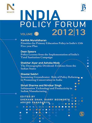 India Policy Forum 2012 13 PDF