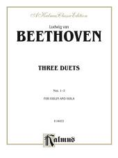Three Duets: For Violin and Viola
