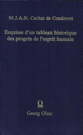 Esquisse d'un tableau historique des progrès de l'esprit humain