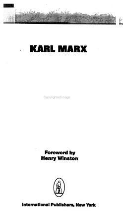 Karl Marx  Beacon for Our Times PDF
