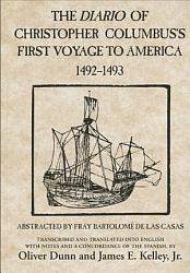 The Diario of Christopher Columbus s First Voyage to America  1492 1493 PDF