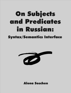 On Subjects and Predicates in Russian PDF