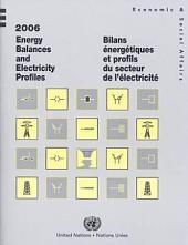 Bilans énergétiques et profils du secteur de l'électricité