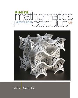 Finite Math and Applied Calculus PDF