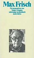 Max Frisch PDF