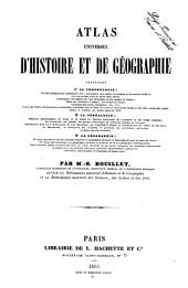 Atlas universel d'histoire et de géographie par M.-N. Bouillet