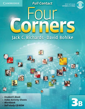 Four Corners Level 3 Full Contact B with Self study CD ROM PDF