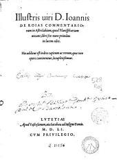 Illustris viri D. Ioannis de Reias Commentriorum in astrolabium, quod planisphaerium vocant libri sex