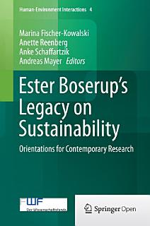 Ester Boserup   s Legacy on Sustainability Book