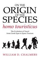 On the Origin of the Species homo touristicus PDF