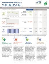 Madagascar: Agricultural R&D Indicators Factsheet