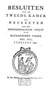 Besluiten van de Tweede Kamer en decreeten van het Vertegenwoordigend Lichaam des Bataafschen Volks: Volume 34