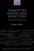 Transitive Nouns and Adjectives PDF