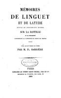 Biblioth  que des m  moires relatifs    l histoire de France pendant le 18e si  cle PDF