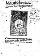 Liber Ethicorum
