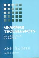 Grammar Troublespots PDF