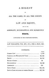 Law magazine : or quarterly review of jurisprudence: Volumes 44-45