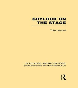 Shylock on the Stage PDF