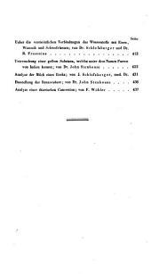 Annalen der Chemie und Pharmacie: vereinigte Zeitschrift des Neuen Journals der Pharmacie für Ärzte, Apotheker und Chemiker u. des Magazins für Pharmacie und Experimentalkritik, Band 51
