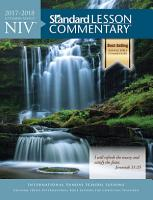 NIV   Standard Lesson Commentary   2017 2018 PDF