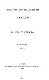 Historical and Philosophical Essays: France, America, and Britain. The law of nations. Lord Brougham's political philosophy. Confederacy and union