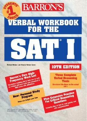 Barron s Verbal Workbook for the SAT I PDF