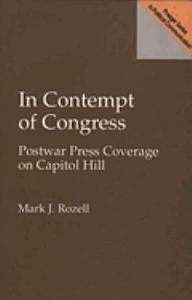 In Contempt of Congress