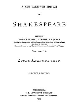 Love s Labour s Lost PDF