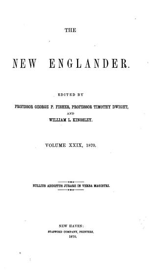 New Englander and Yale Review PDF