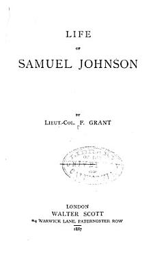 Life of Samuel Johnson PDF