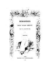 Memorieboek der stad Ghent: van 't j. 1301 tot 1793, Volume 3
