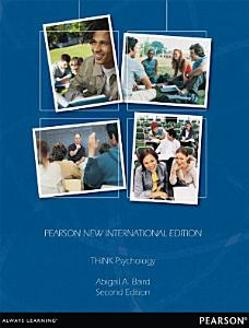 THINK Psychology  Pearson New International Edition PDF