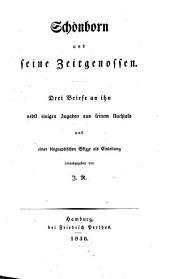 Schönborn und seine Zeitgenossen