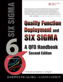 Quality Function Deployment and Six Sigma PDF