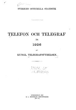 Telefon och Telegraf PDF